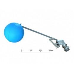 """Клапан поплавковый F.A.R.G. 1"""" + Шар пластиковый 150 мм"""