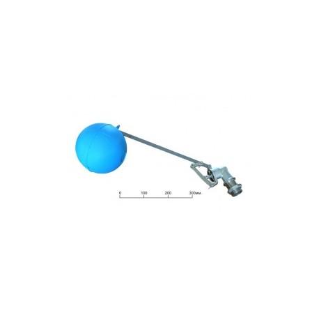 """Клапан поплавковый F.A.R.G. 1"""" + Шар пластиковый 150 мм фото 495"""
